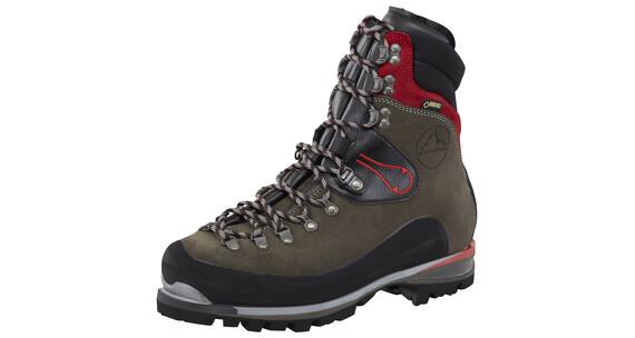 La Sportiva Karakorum Evo GTX Alpine Boots Men anthracite/red